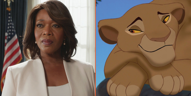 Luke Cage Actress Alfre Woodard Climbs Aboard The Lion King At Disney