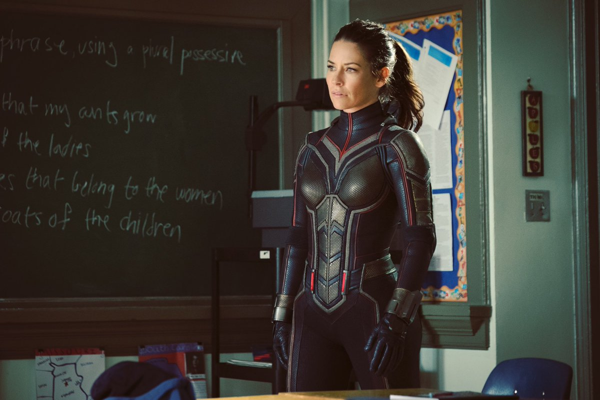 Evangeline Lilly Suits Up In New Set Photo For Ant-Man And The Wasp