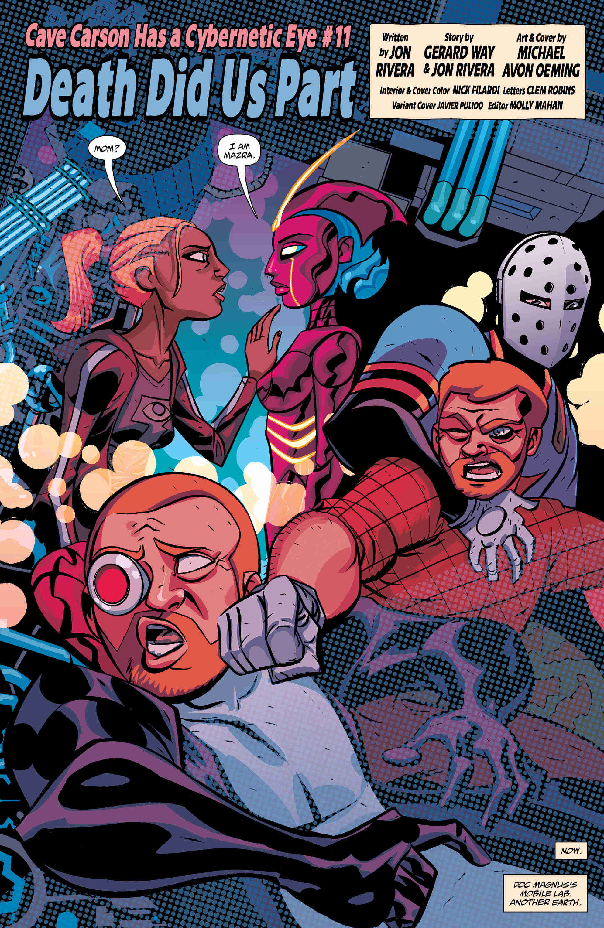 Exclusive Preview: Things Get Weird In Cave Carson Has A Cybernetic Eye #11