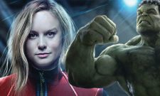 Captain Marvel's Brie Larson Wants Carol Danvers To Go Up Against The Hulk