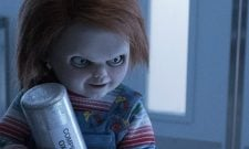 Creepy Still For Cult Of Chucky Finds The Devil Doll Taunting His Prey