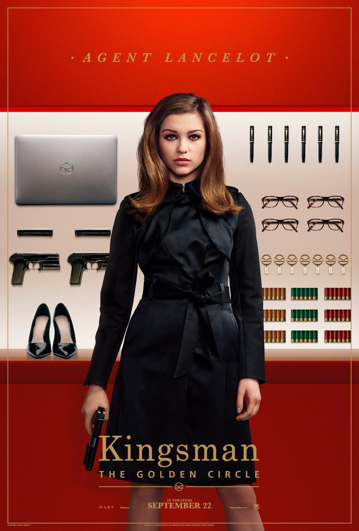 The Kingsman Tool Up In New Character Posters For The Golden Circle
