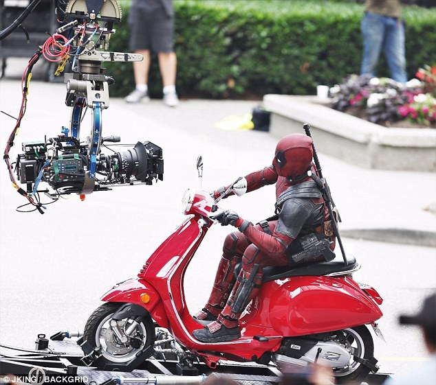 Action-Packed Set Snaps From Deadpool 2 Spell Double Trouble