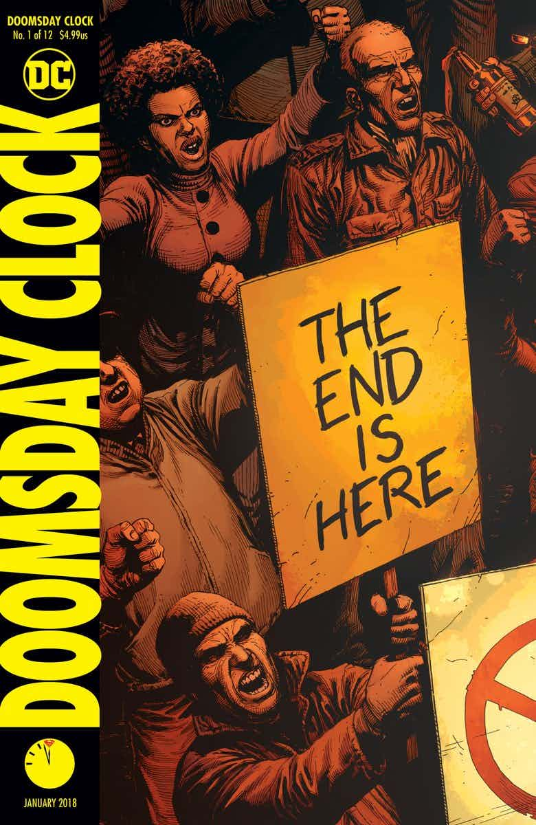 Watchmen's Rorschach May Appear In Doomsday Clock