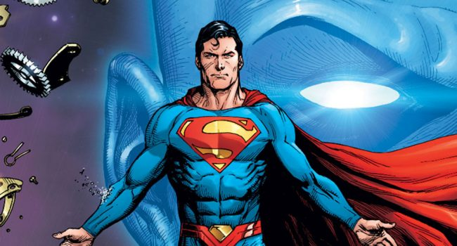 Superman And Watchmen Feature On First Doomsday Clock Covers