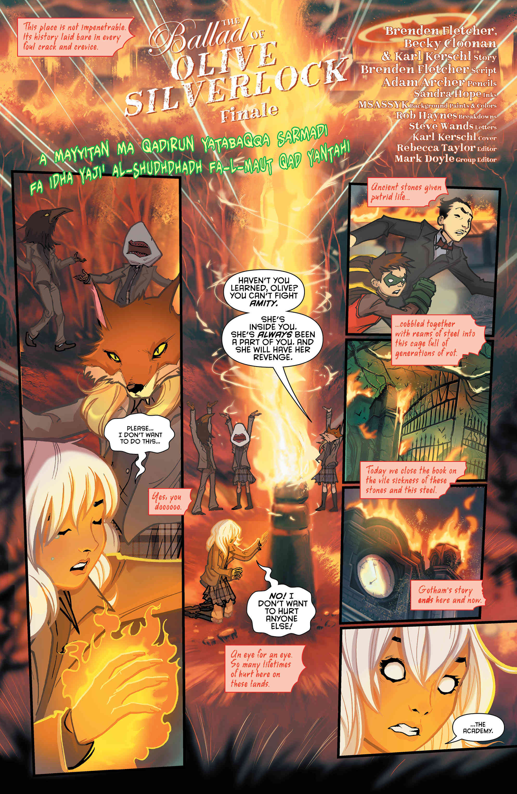 Exclusive Preview: The Final Bell Sounds In Gotham Academy: Second Semester #12