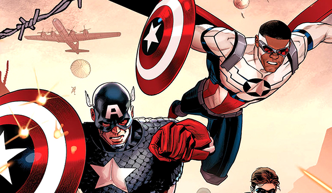 Captain Americas Unite In First Look At Generations One-Shot