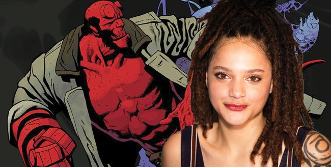 American Honey Breakout Sasha Lane In Contention For Hellboy Reboot