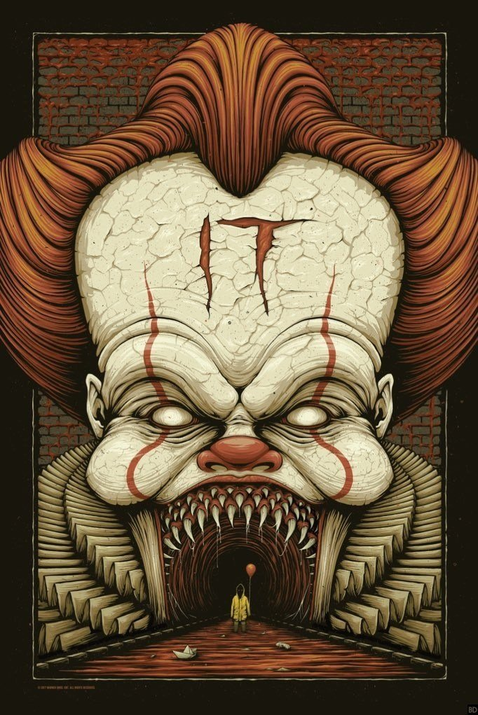 Stare Down The Face Of Evil With This Unsettling New Poster For It