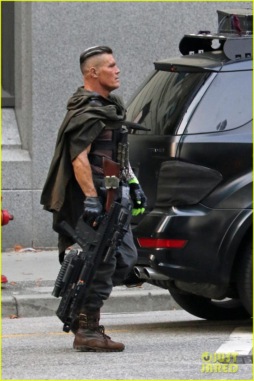 Josh Brolin's Hulking Cable Enters The Fray In New Deadpool 2 Set Photos