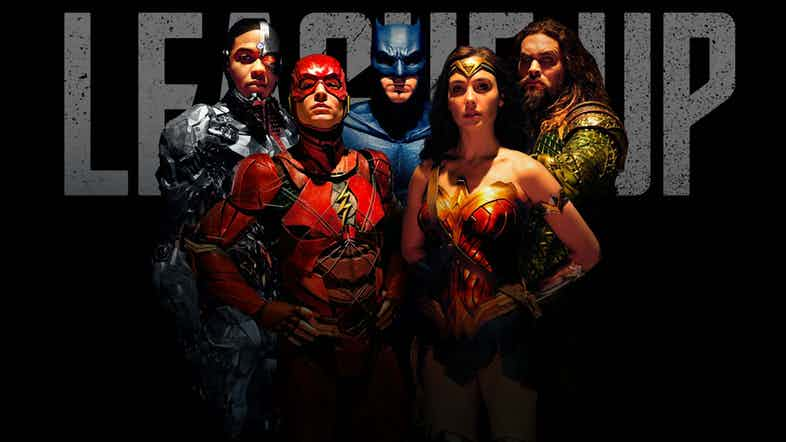 It's Time To 'League Up' With This New Justice League Poster