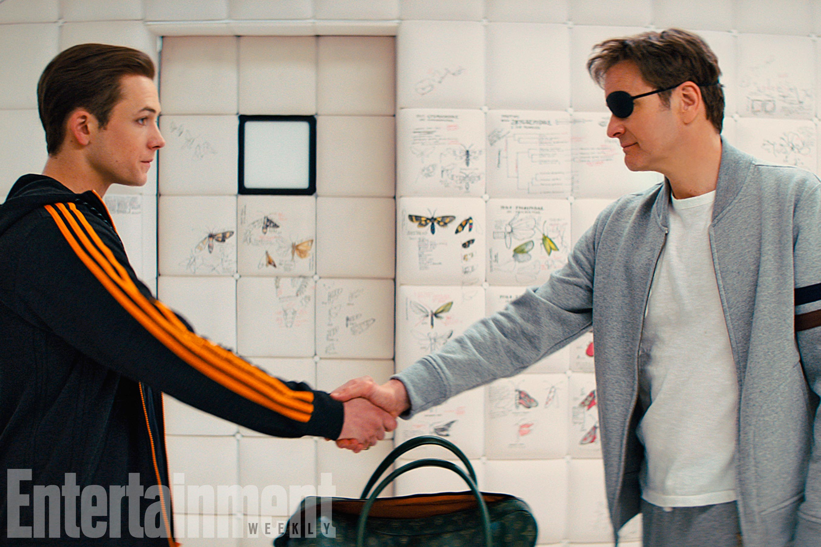 Eggsy Reunites With An Old Friend In New Kingsman: The Golden Circle Photo