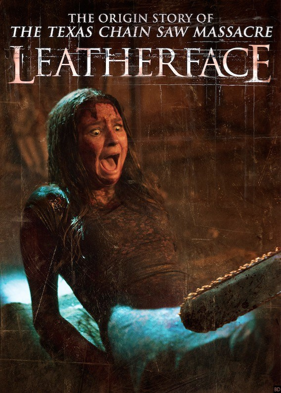 Latest Leatherface Poster Gets A Little Too Close For Comfort