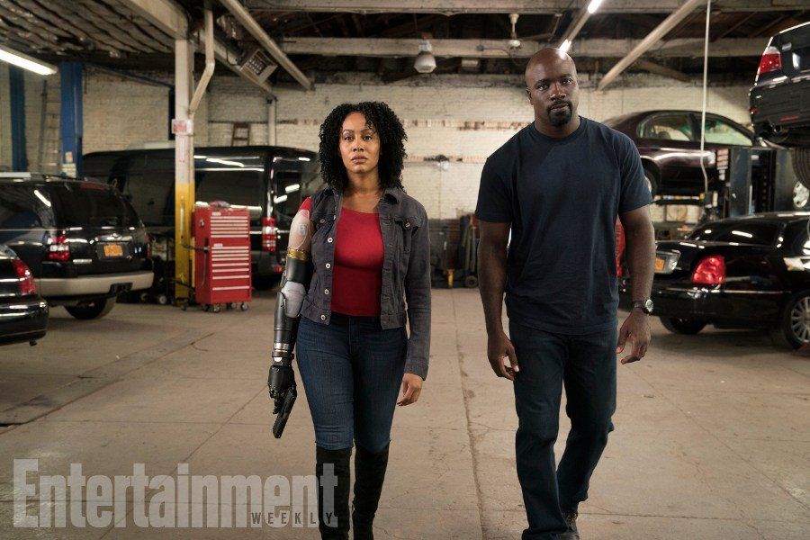 First Official Still For Luke Cage Season 2 Sheds Light On Misty's Bionic Arm
