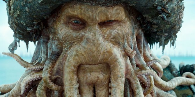Bill Nighy Was Completely Unaware That His Davy Jones Appeared In Pirates Of The Caribbean: Dead Men Tell No Tales