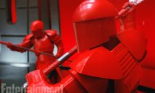 "Take A Closer Look At Snoke's ""Dangerous"" Crimson Guards As They Appear In Star Wars: The Last Jedi"
