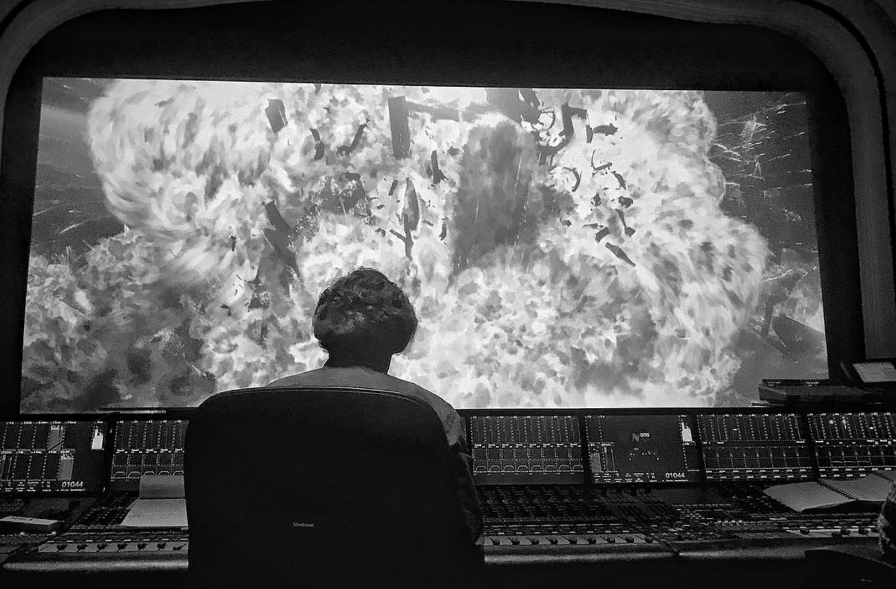 Rian Johnson Shares Explosive Image From Star Wars: The Last Jedi's Edit Bay