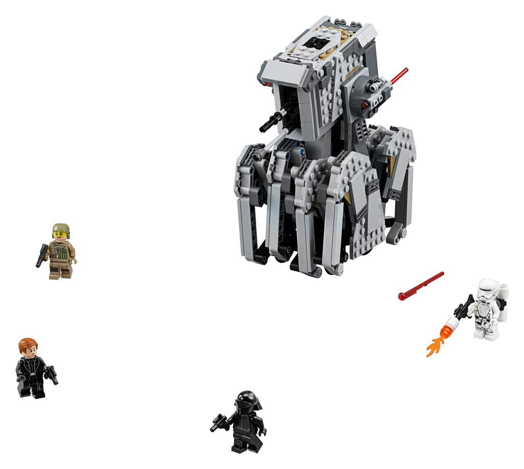 LEGO Unveils Deluge Of Star Wars: The Last Jedi Merch Featuring Troopers, Chewie And The AT-M6 Walkers