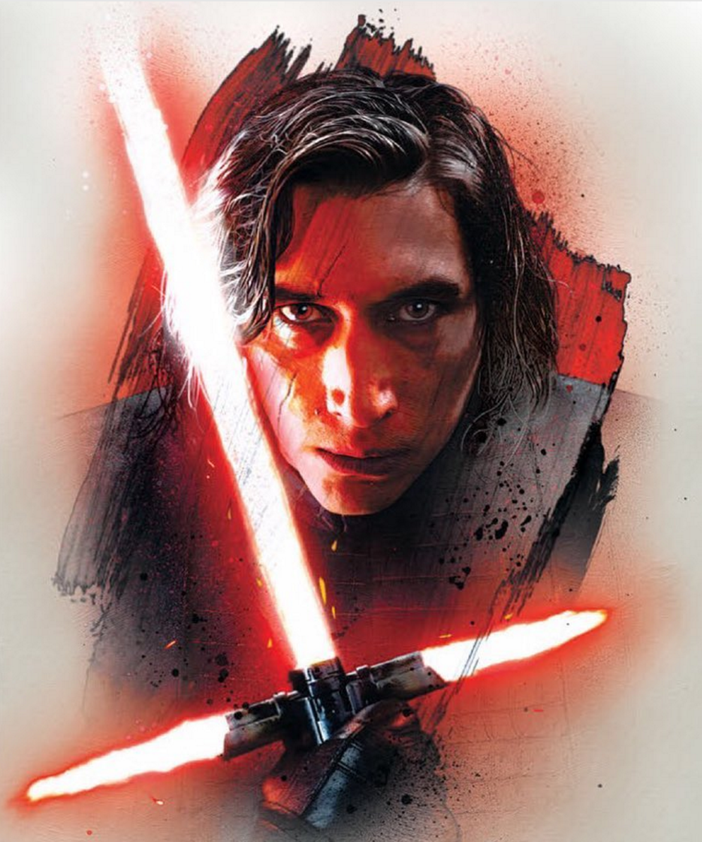 Star Wars: The Last Jedi Promo Art Places Kylo Ren And Snoke Front And Center