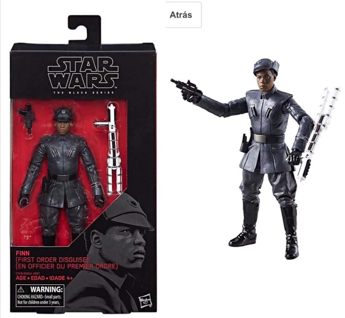 Finn Goes Undercover And Snoke's Lair Is Purportedly Revealed In Latest Merch Pics For Star Wars: The Last Jedi
