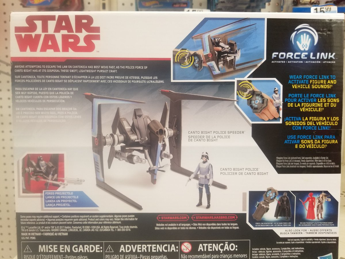 Another Collection Of Star Wars: The Last Jedi Figures Shed New Light On Canto Bight