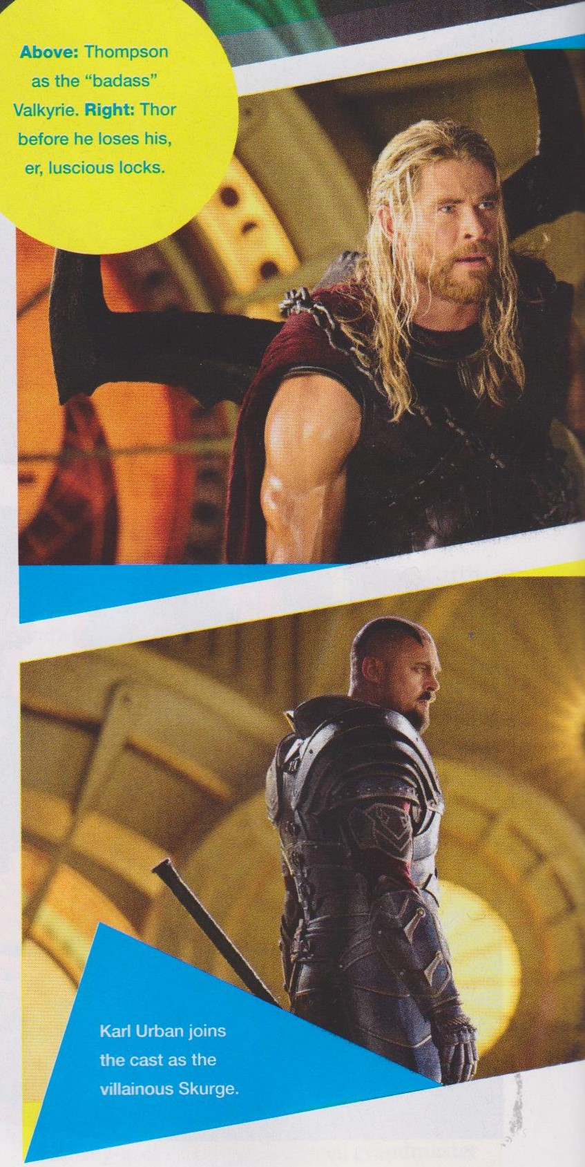 Skurge, Valkyrie And An All-Black Loki Feature In New Thor: Ragnarok Pics
