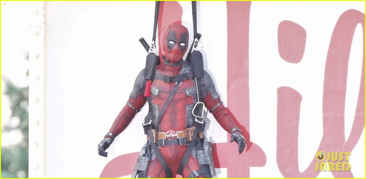 Latest Helping Of Deadpool 2 Set Photos Find The Merc All Strung Up