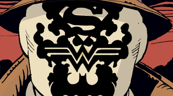 This doomsday clock 1 lenticular cover featuring rorschach has to be seen to be believed