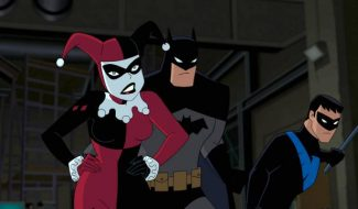 Nightwing Makes A House Call In New Batman And Harley Quinn Clip