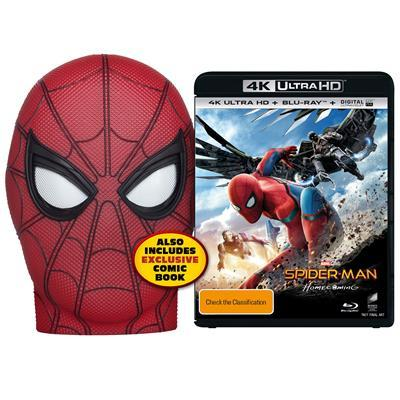 Retailer Listing Reveals Bonus Features And Possible Release Date For Spider-Man: Homecoming Blu-Ray