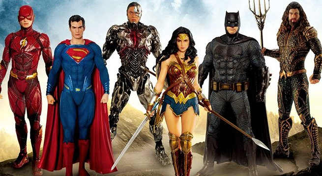 Superman Returns With These New Justice League Figures