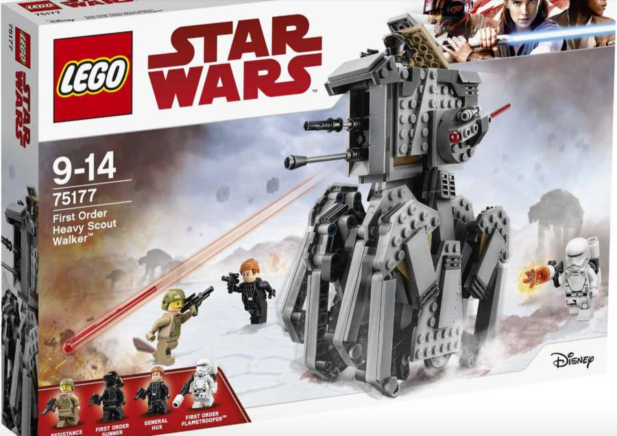 Star Wars: The Last Jedi LEGO Sets Reveal Some Of The New Vehicles
