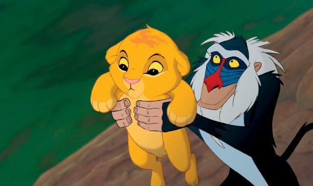The Lion King Remake Finds Its Rafiki