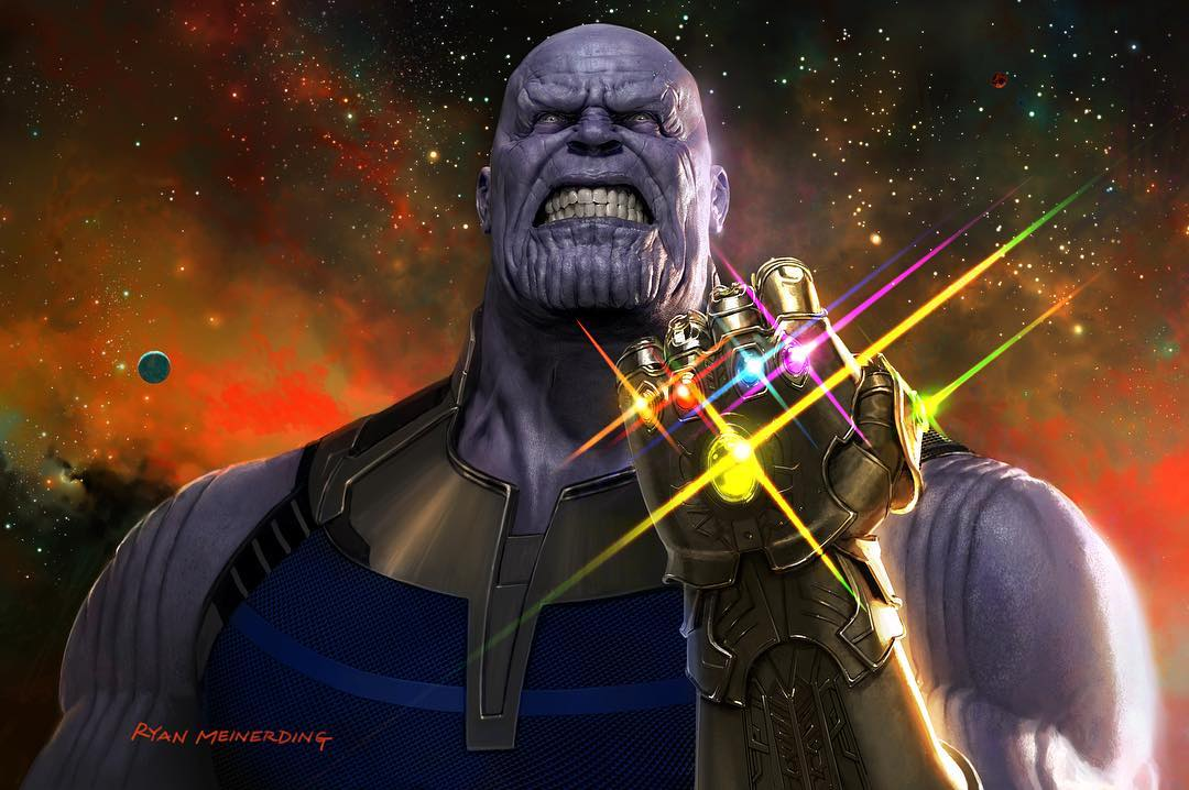 Thanos Wields The Infinity Gauntlet On New Avengers: Infinity War Promo Art