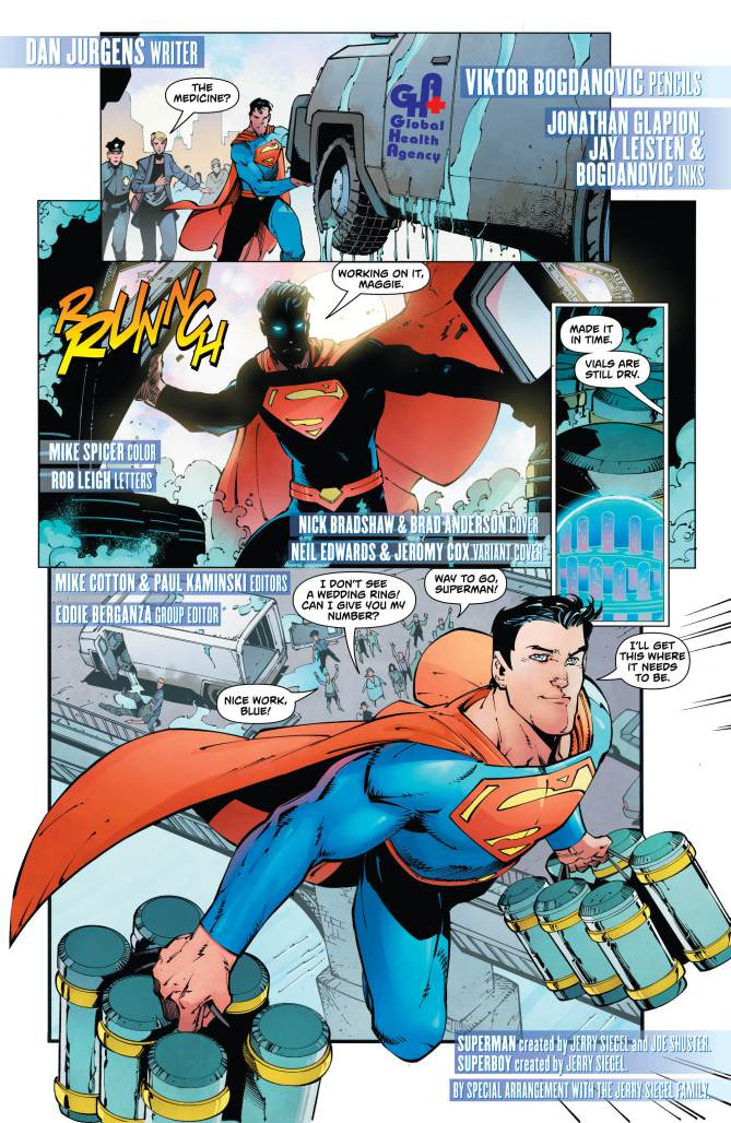 Action Comics #987 Reveals The Identity Of Mr. Oz