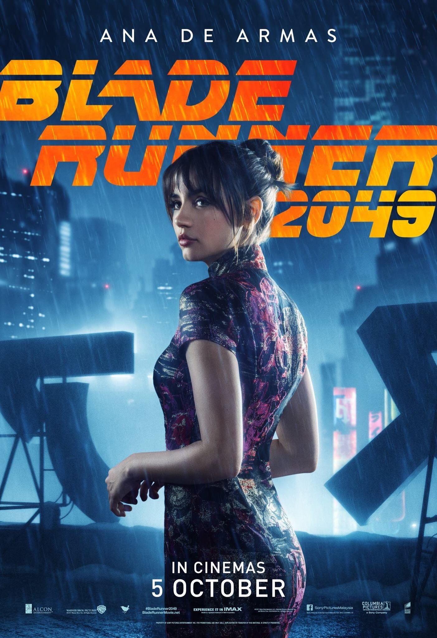 Gorgeous New Character Posters For Blade Runner 2049 Surface
