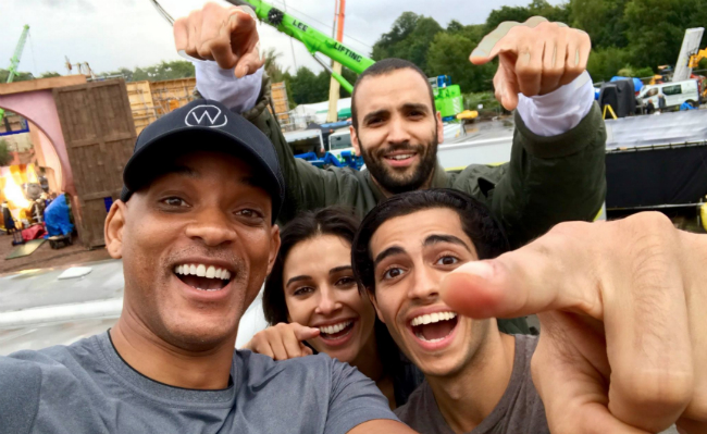 Filming On Disney's Live-Action Aladdin Gets Underway As Will Smith Posts First Set Photo