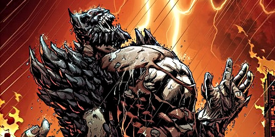 DC's Batman-Doomsday Hybrid Is Simply Savage