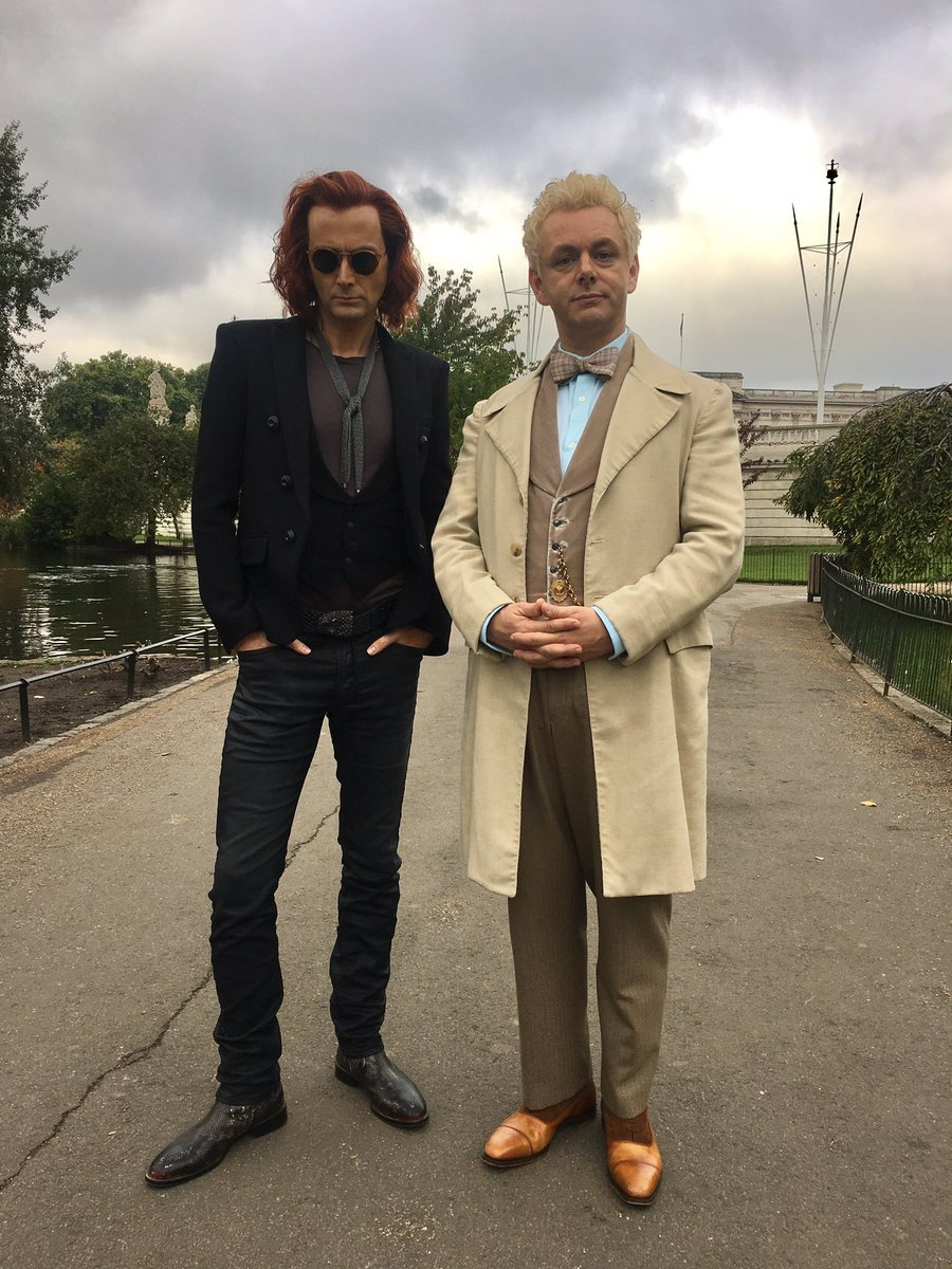 David Tennant Rocks Red Hair In Another New Good Omens Photo