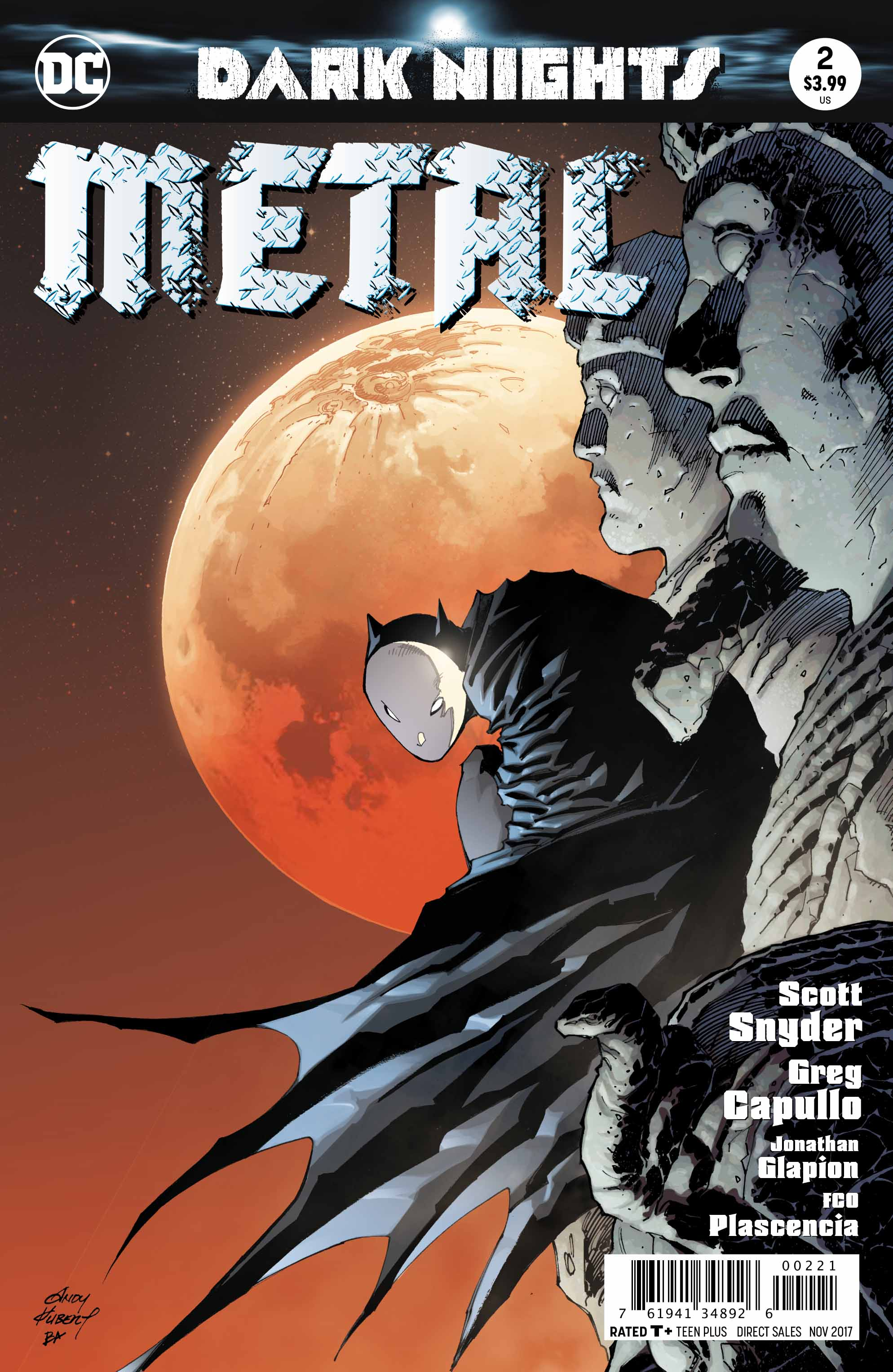 Dark Nights: Metal #2 Unleashes The Evil Batmen And The Dark Multiverse