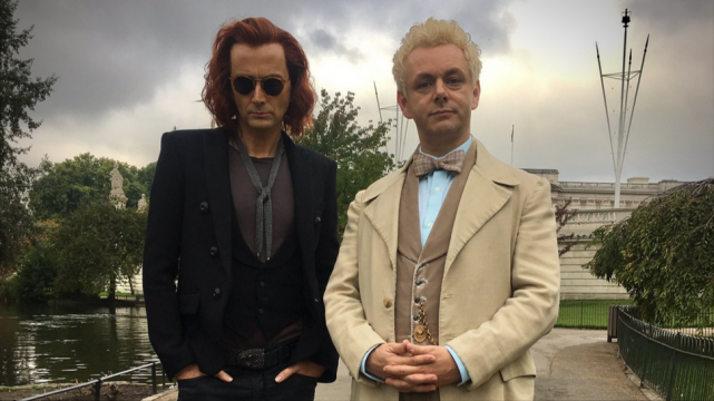 David Tennant Is Dressed In Victorian Finery In New Good Omens Image