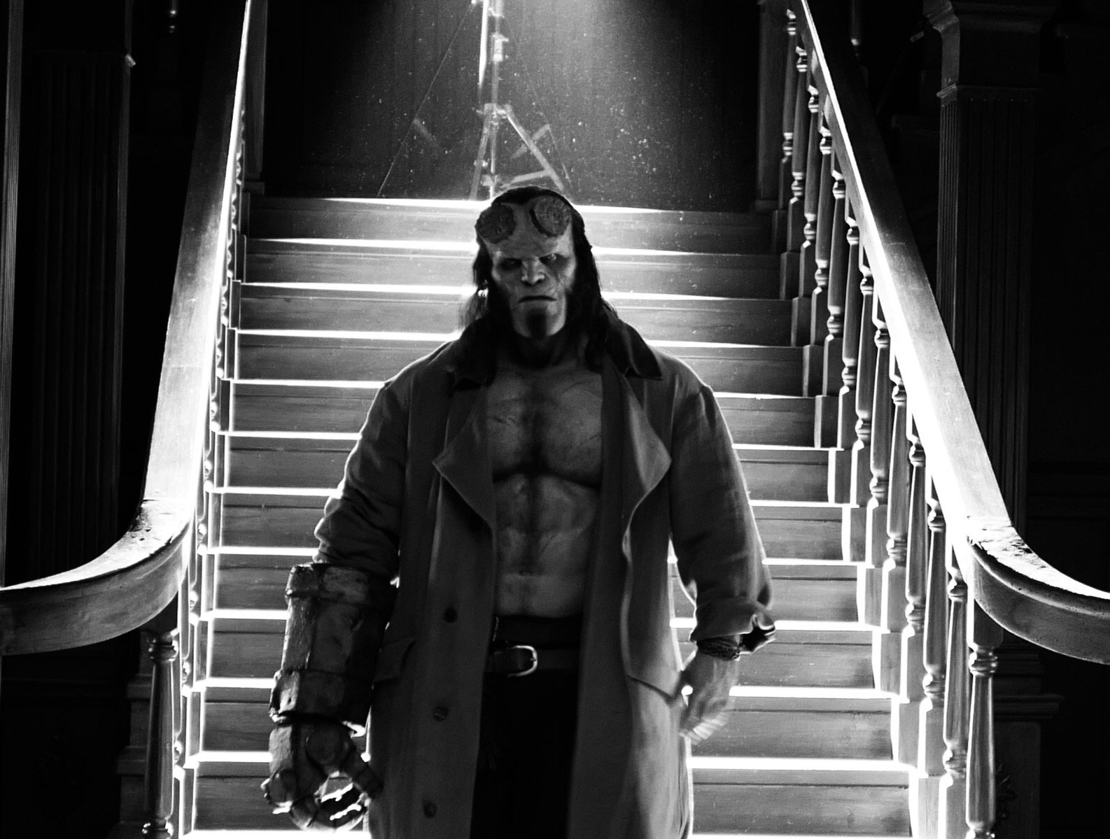 My God, David Harbour Looks Perfect as Hellboy