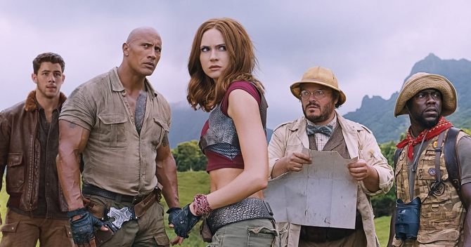 Hilarious New Trailer For Jumanji: Welcome To The Jungle Flips The Tables