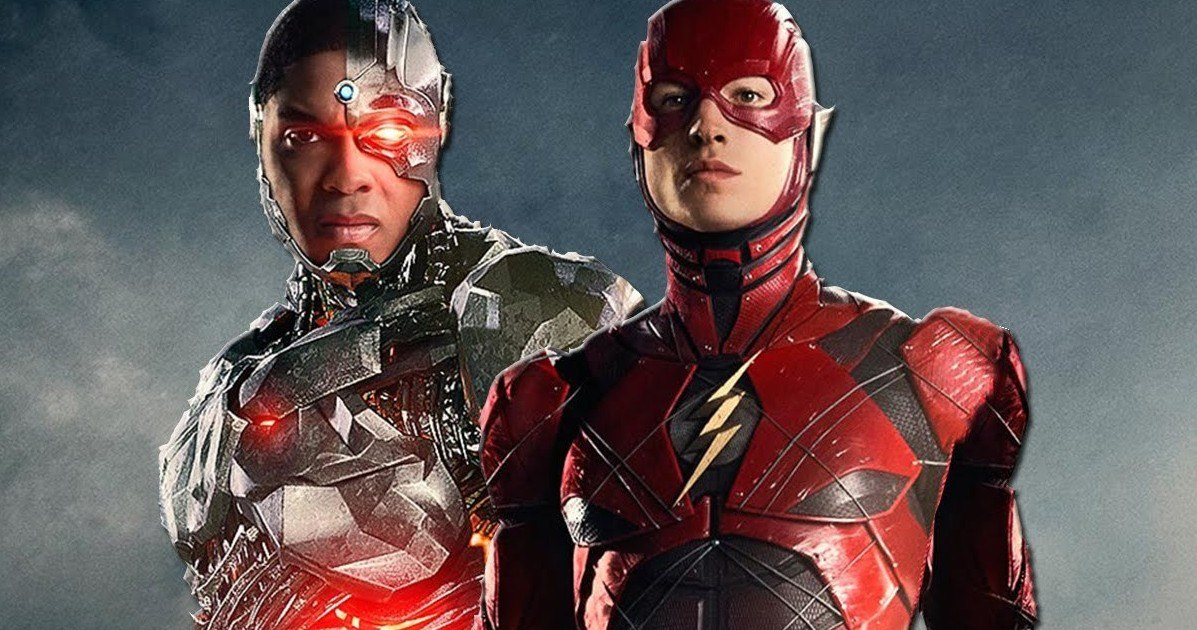 Cyborg And The Flash Have A Special Bond In Justice League