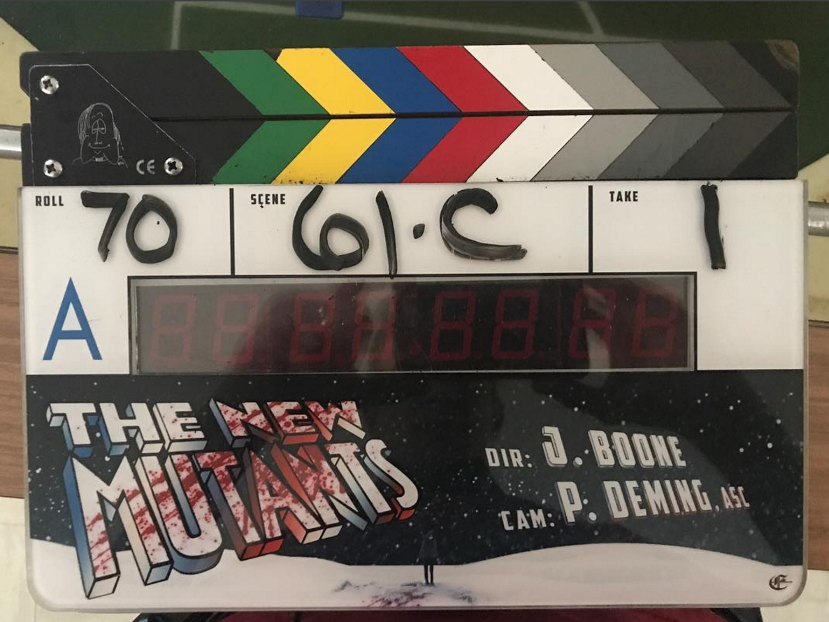 Josh Boone Shares Updated New Mutants Logo As Filming Enters The Home Stretch