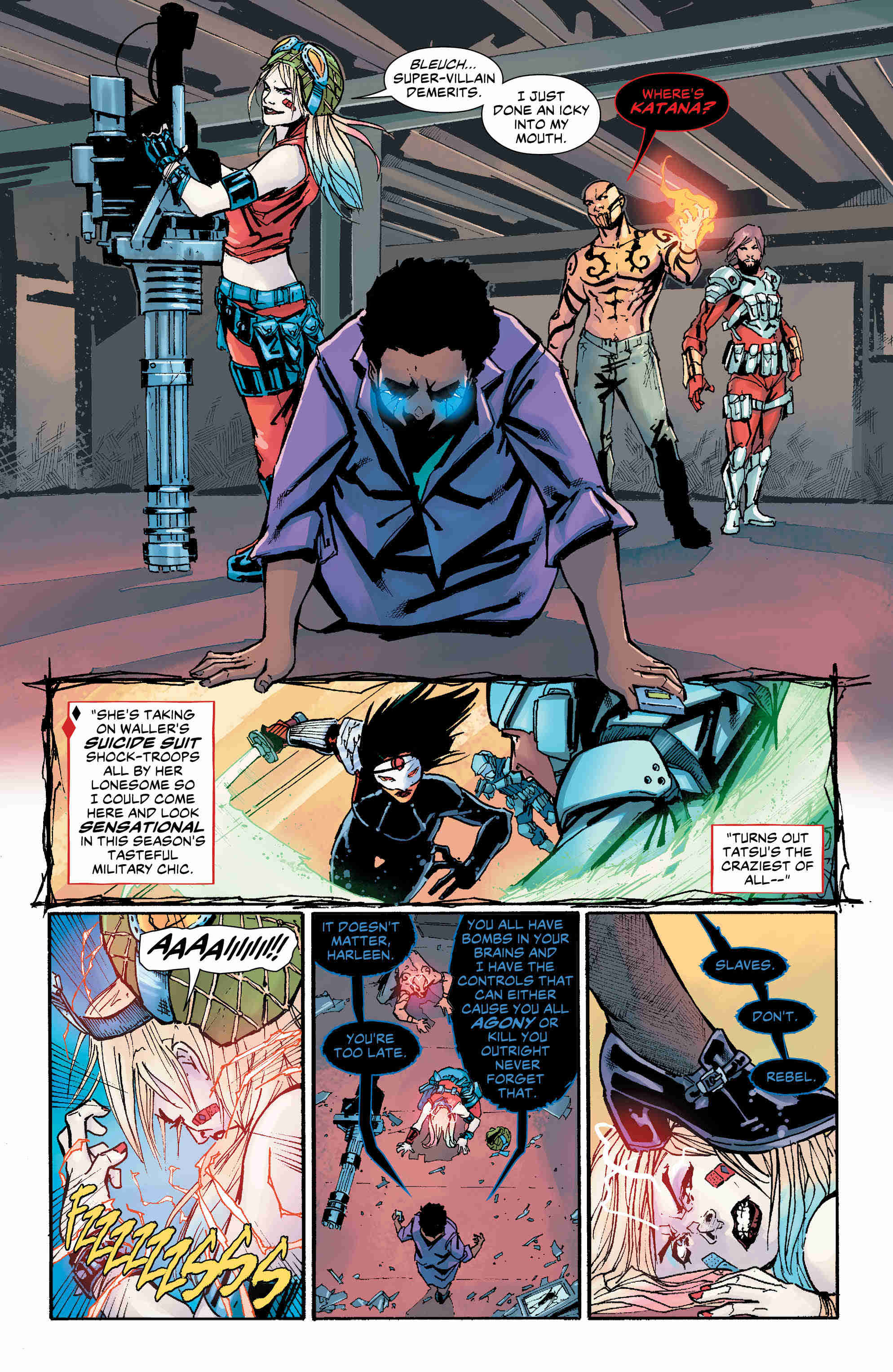 Exclusive Preview: Kill Your Darlings Concludes In Suicide Squad #25