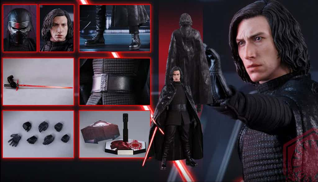 Incredibly Detailed Hot Toys Figure Spotlights Kylo Ren As He'll Appear In Star Wars: The Last Jedi