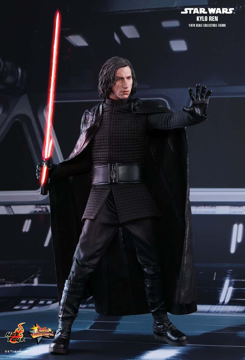 Battery Operated Ride On Toys >> The Last Jedi: Kylo Ren Hot Toys Figure Released