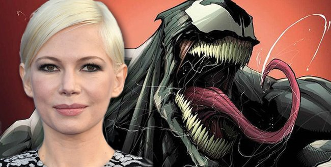 Michelle Williams Climbed Aboard Venom To Work With Tom Hardy