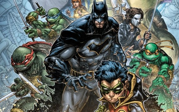 Pop Culture Icons Reunite In Batman/Teenage Mutant Ninja Turtles II